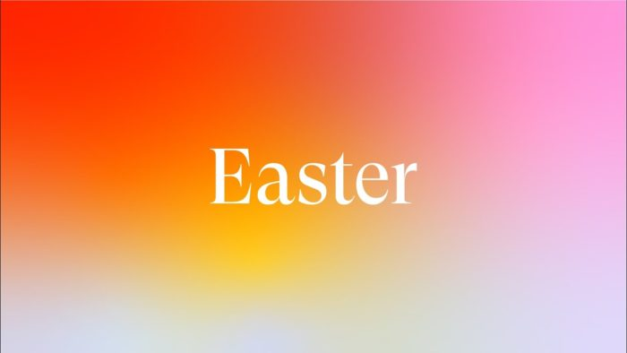 Easter Sunday at Good Samritan Church in San Jose, CA