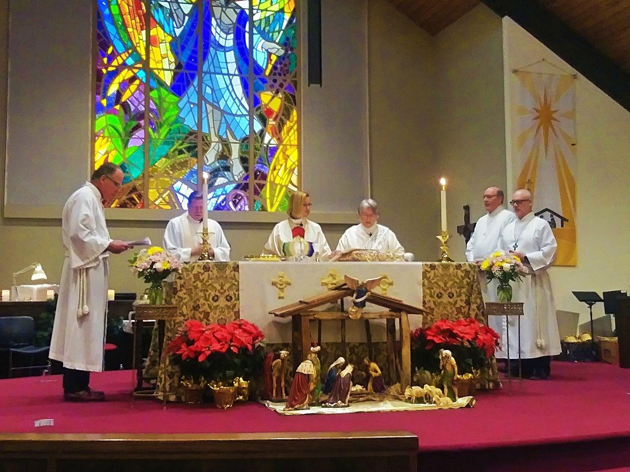Eucharist at Good Samaritan Church, San Jose CA